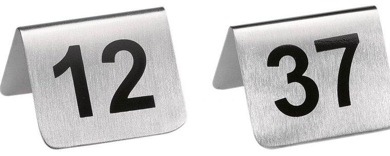 Tischnummern