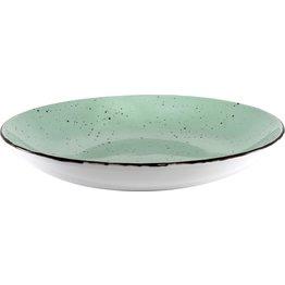 "Porzellanserie ""Granja"" mint Teller tief Coup-Form, 26 cm - NEU"
