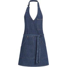 "Latzschürze Denim ""Jeans"" blue denim Damen - NEU"