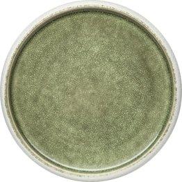 "Porzellan Serie ""Samoa"" grün Teller flach Ø26cm - NEU"