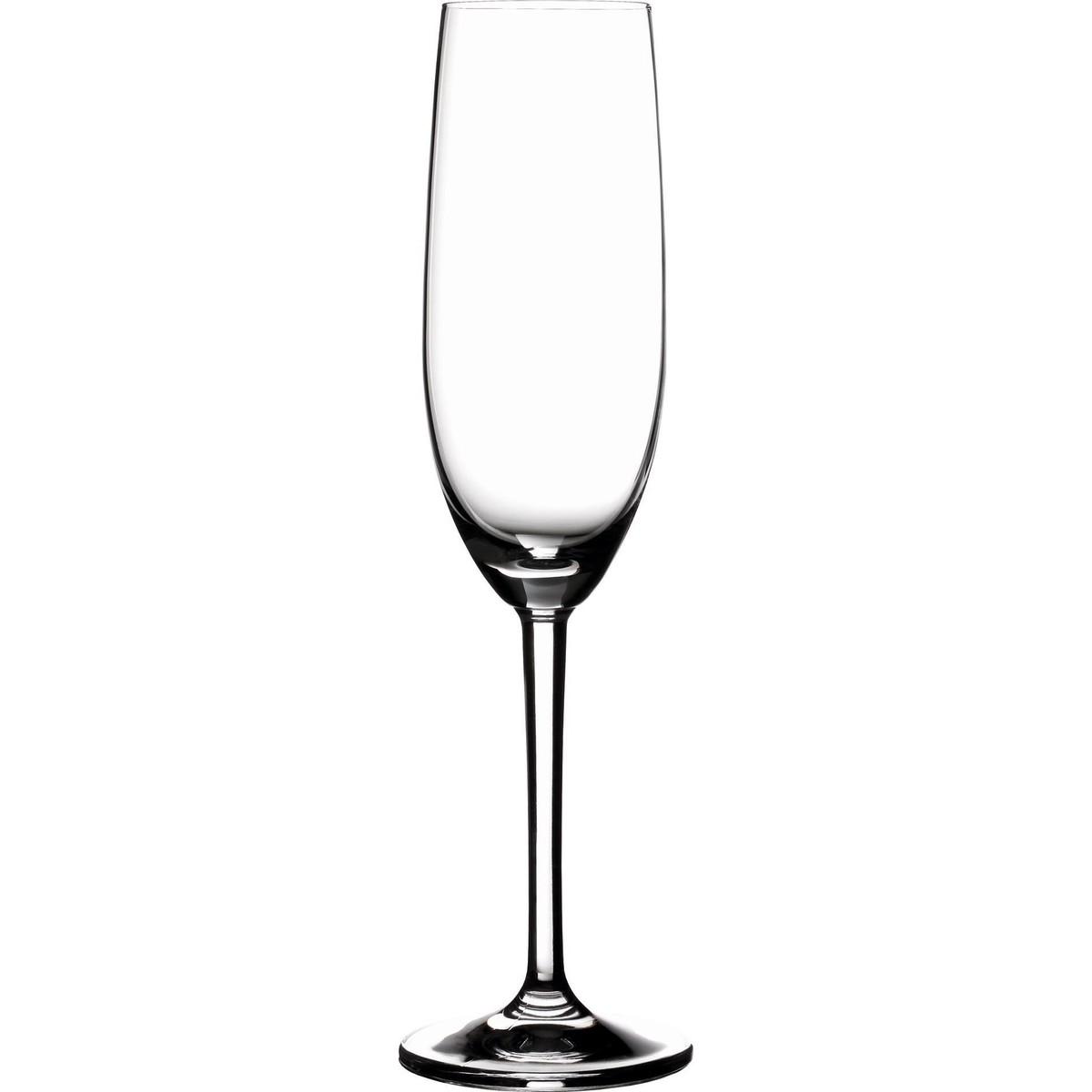 """Glasserie """"Mondego"""" Sektkelch mit Füllstrich"""
