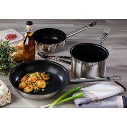 "Sauteuse antihaft ""Cookmax Professional""  Ø18cm H: 6,5m Inhalt: 1,7 Liter"
