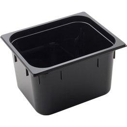 GN Behälter 1/2 Polycarbonat schwarz T: 200mm, 14,4L