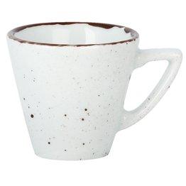 "Porzellanserie ""Granja"" weiß Tasse obere Kaffee/Cappuccino"