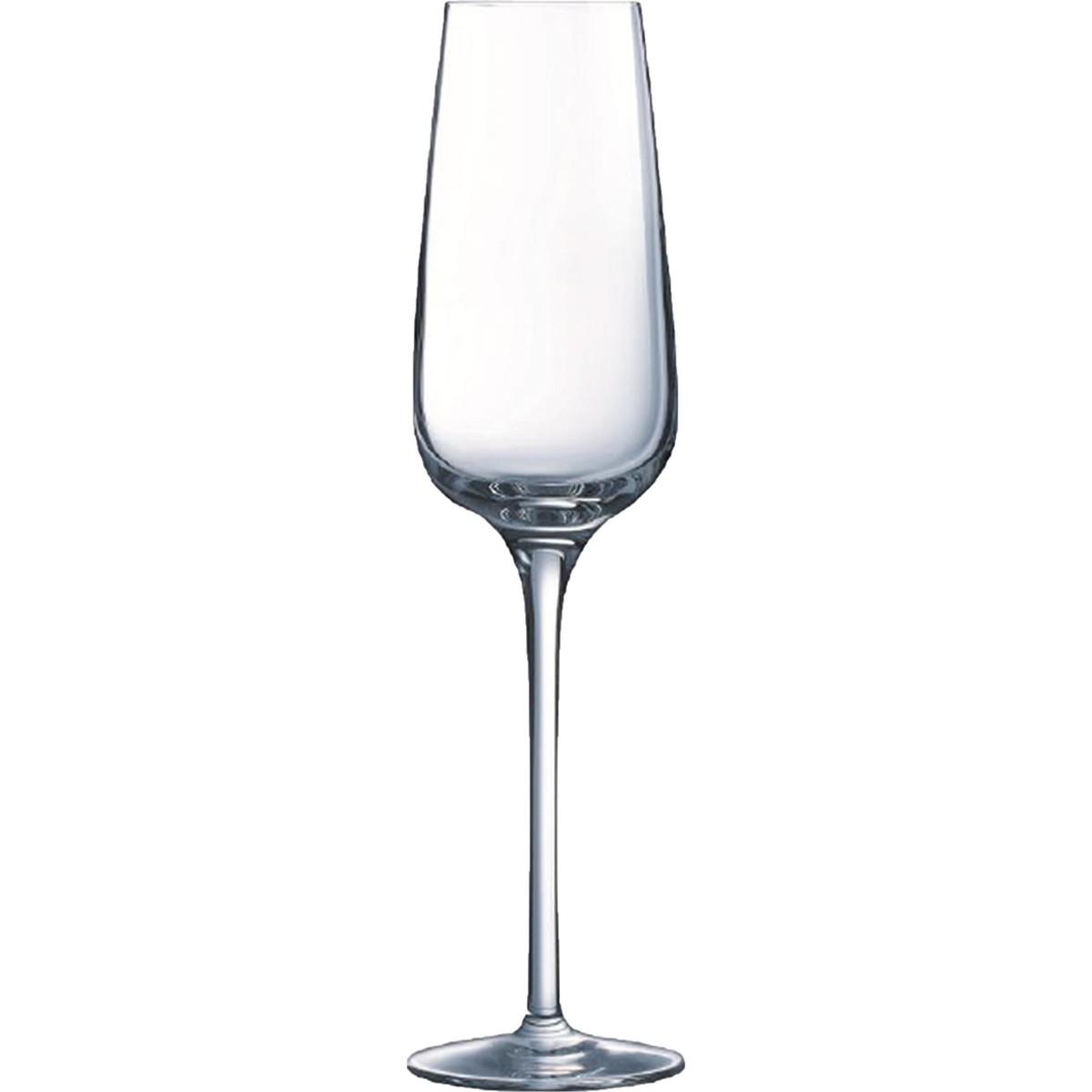 """Glasserie """"Sublym"""" Sektglas mit Füllstrich"""