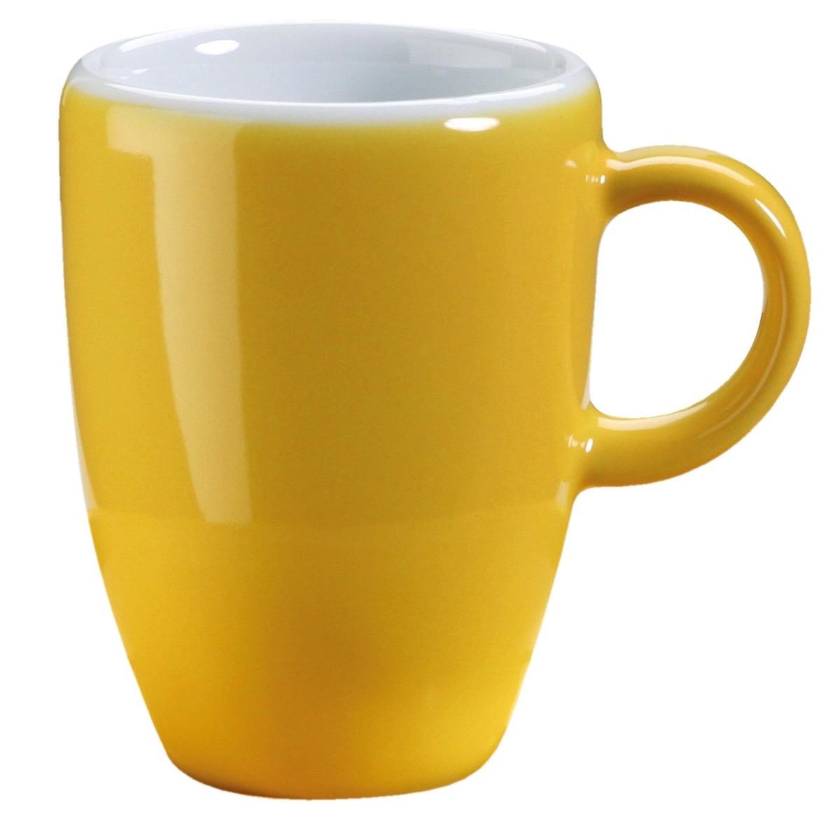 Espressotasse obere gelb