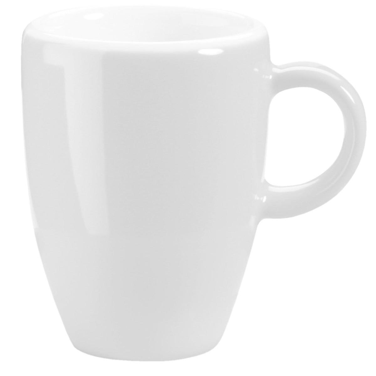 Espressotasse obere weiß