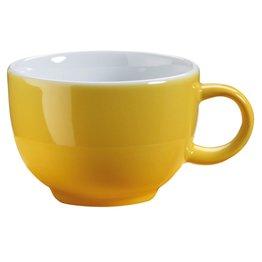 Kaffee-/Cappuccinotasse obere gelb