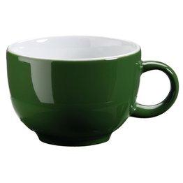 Kaffee-/Cappuccinotasse obere grün