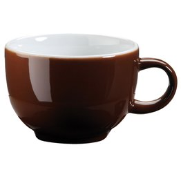 Kaffee-/Cappuccinotasse obere mocca