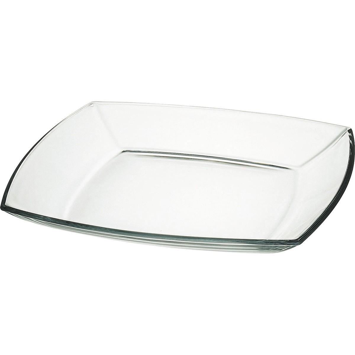 """Glasschale """"Tokio"""" eckig flach 19,5cm"""