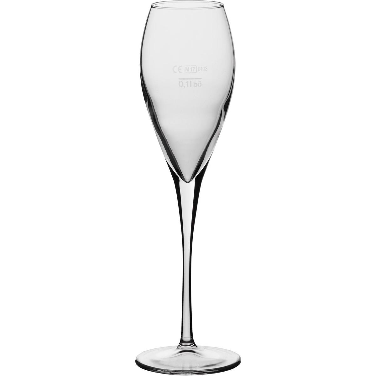 """Glasserie """"Calice"""" Sektglas 22,5 cl mit Füllstrich"""