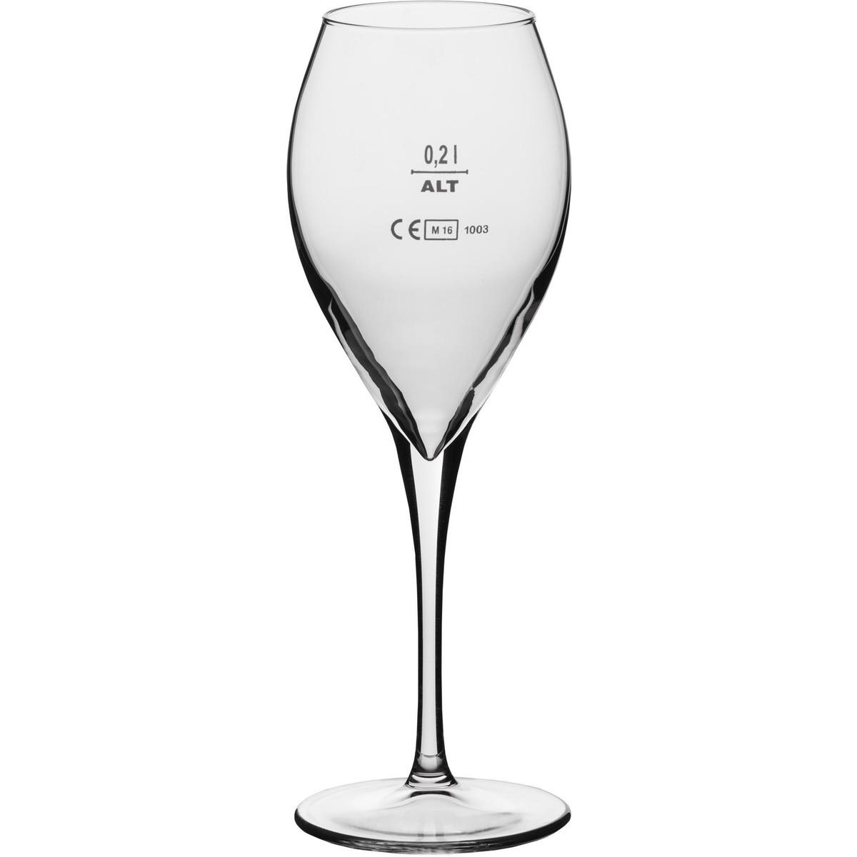 """Glasserie """"Calice"""" Weißweinglas 32,5 cl mit Füllstrich"""