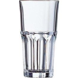 """Glasserie """"Granity"""" Longdrinkbecher 31cl mit Füllstrich"""