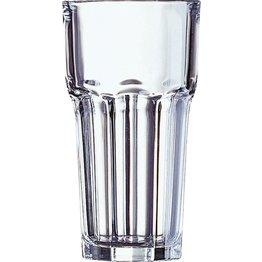 """Glasserie """"Granity"""" Longdrinkbecher 65cl mit Füllstrich"""