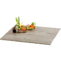 """Melamin-Buffetplatte """"Wood"""" GN 1/2"""