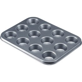 Backform für 12 Mini-Muffins