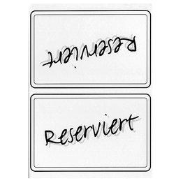 Reserviert-Karte