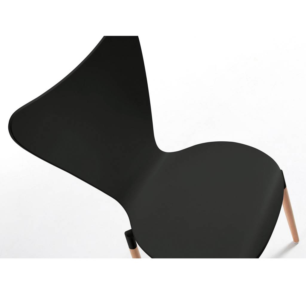 LaForma Stoel Eclectic zwart