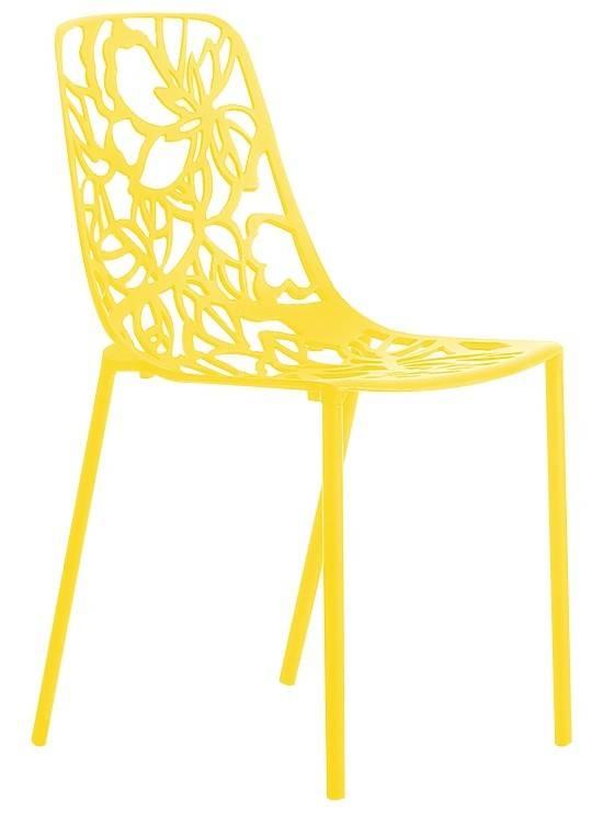 Trendy Designs Stoel Cast Magnolia Geel