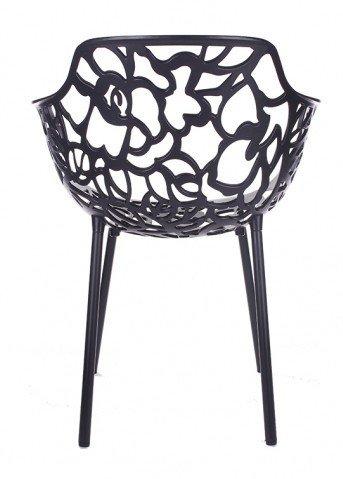 Trendy Designs Armstoel Cast Magnolia Zwart
