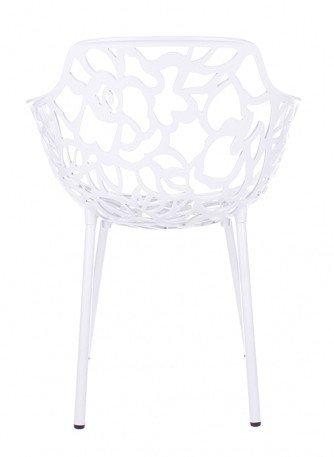 Trendy Designs Armstoel Cast Magnolia Wit