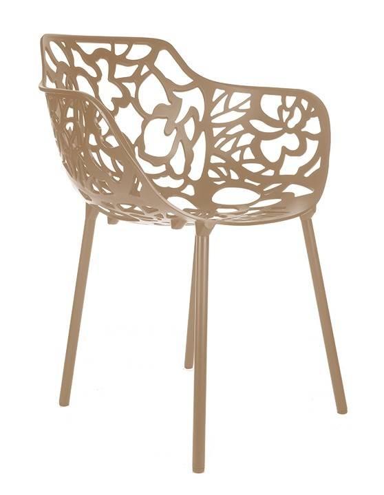 Trendy Designs Armstoel Cast Magnolia Bruin Beige