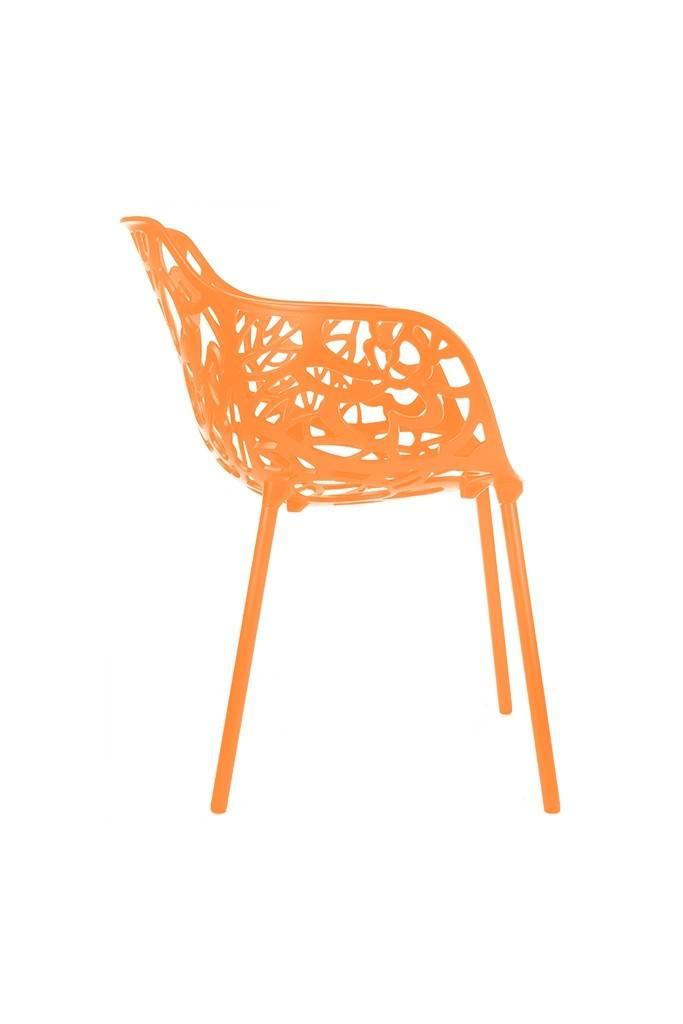 Trendy Designs Armstoel Cast Magnolia Oranje