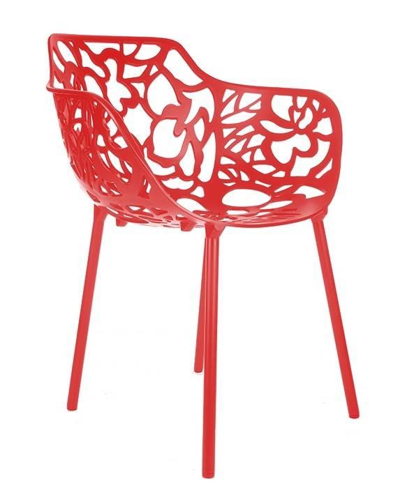 Trendy Designs Armstoel Cast Magnolia Rood