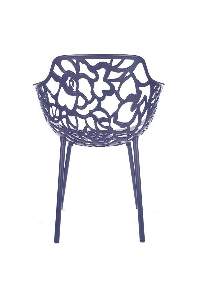 Trendy Designs Armstoel Cast Magnolia Marineblauw