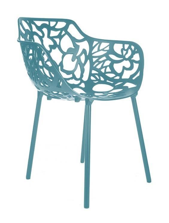 Trendy Designs Armstoel Cast Magnolia Oceanblue