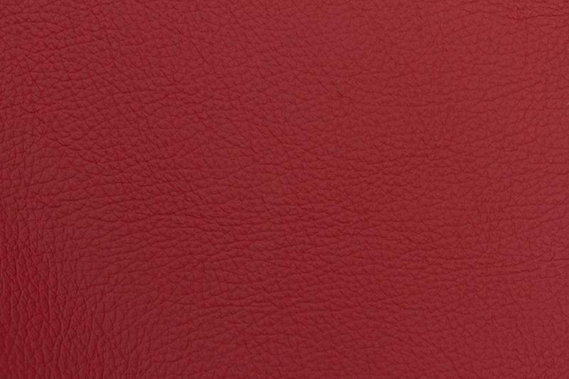 Trendy Designs RVS barkruk Malaga Rood Leer