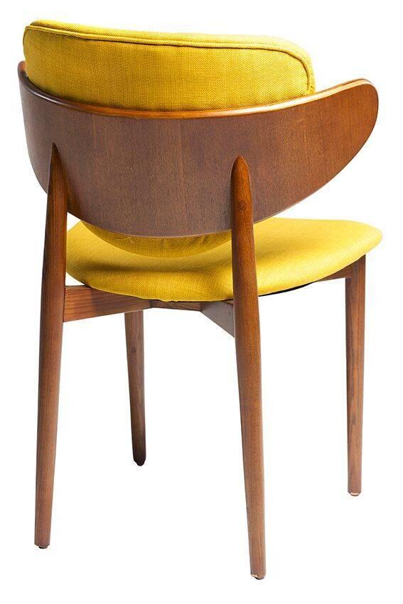 Dan Form Dan-Form stoel Costa Geel