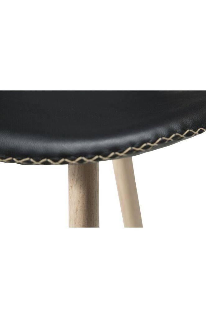 Dan Form Dan-Form stoel Butterfly Zwart/Eiken