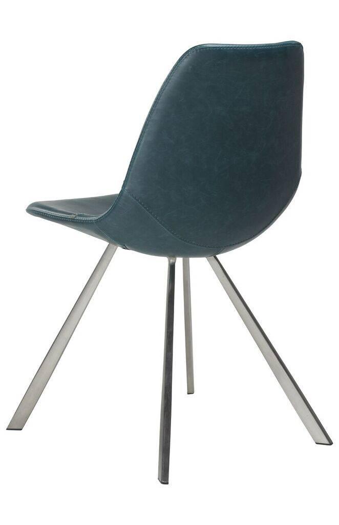 Dan Form Dan-Form stoel Pitch Petroleum blauw