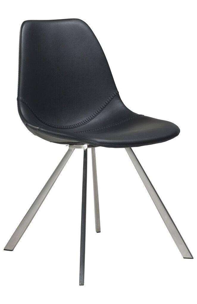 Dan Form Dan-Form stoel Pitch Zwart