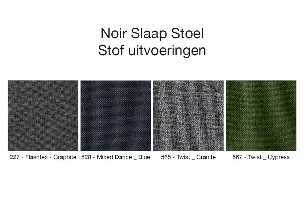 Innovation Living Noir Slaap Stoel Graphite