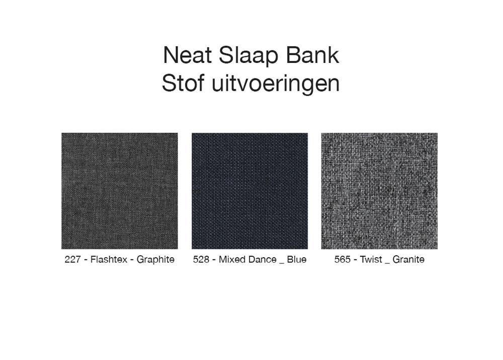 Innovation Living Neat Slaap Bank 140 cm Graphite