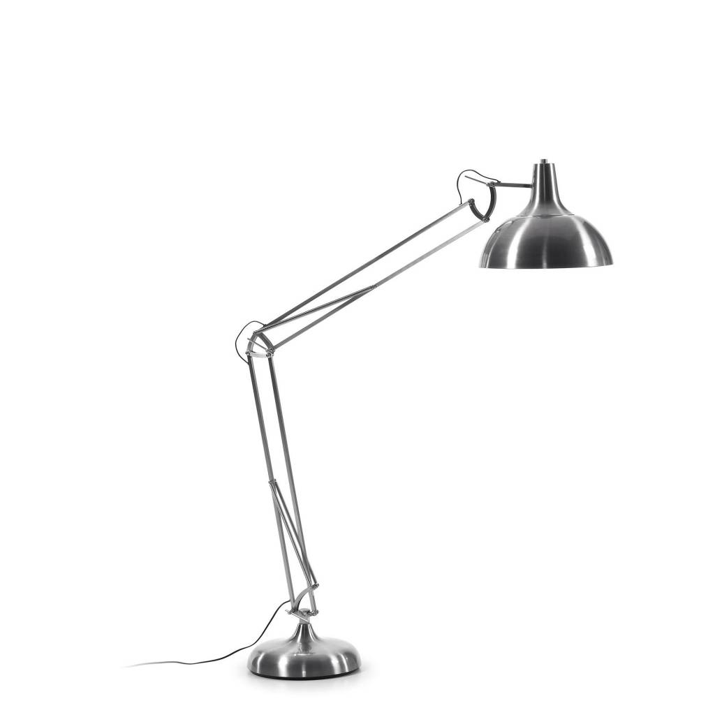 LaForma Vloerlamp Levi Nickel