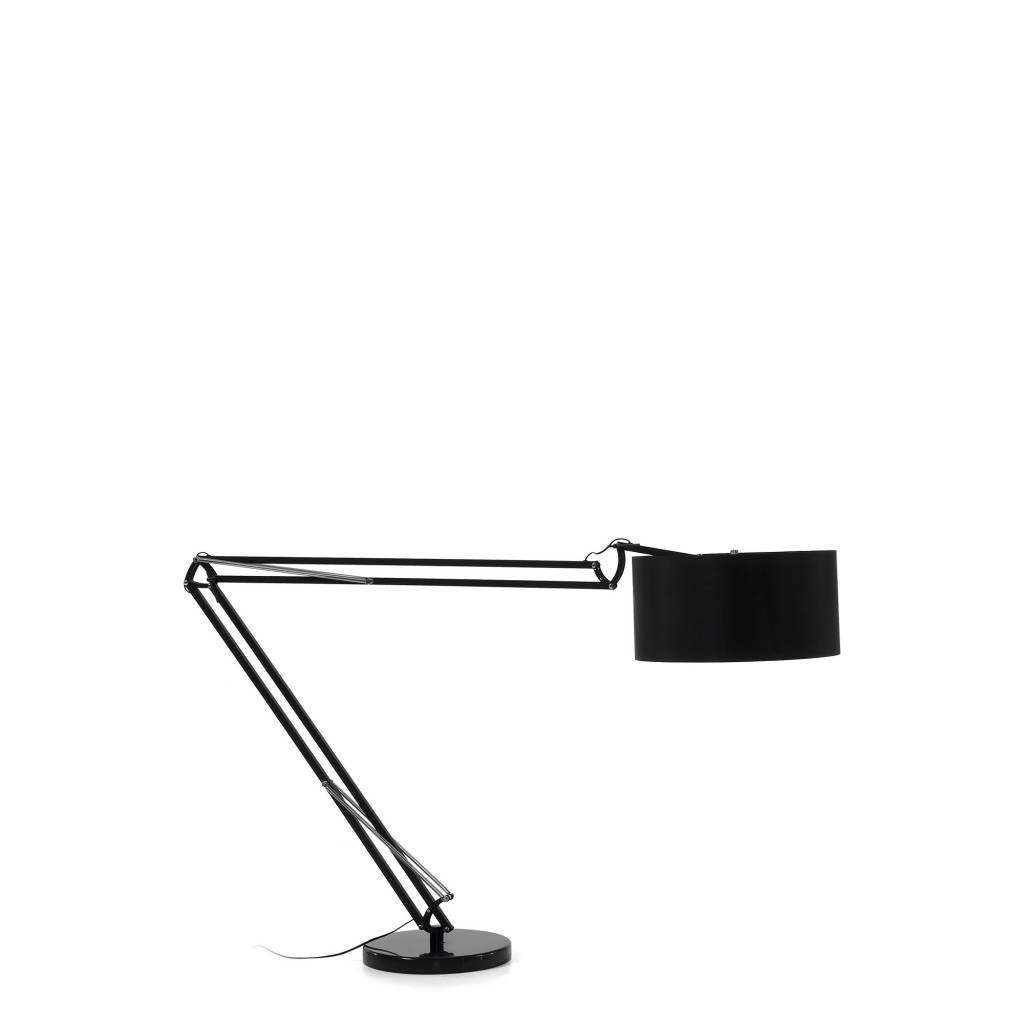 LaForma Vloerlamp Senta Zwart