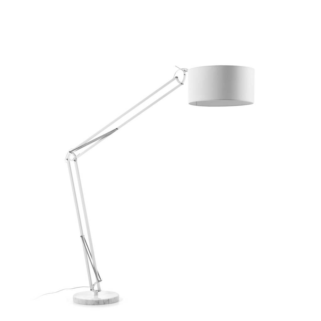 LaForma Vloerlamp Senta Wit