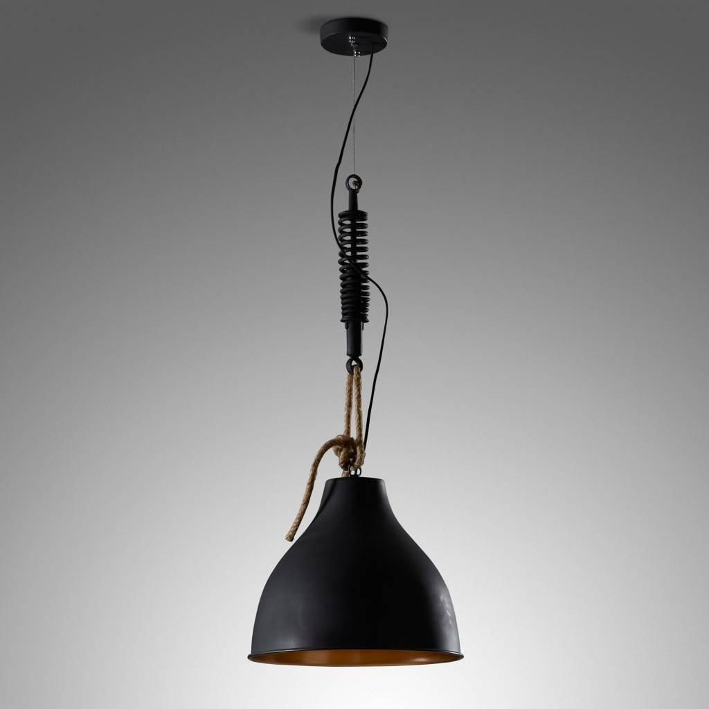 LaForma Hanglamp Eidas Zwart