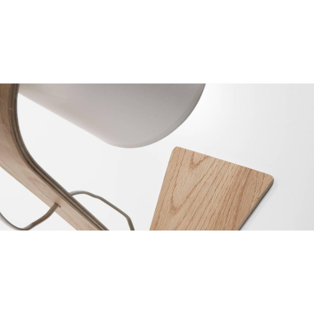 LaForma Tafel- bureaulamp Percy Wit