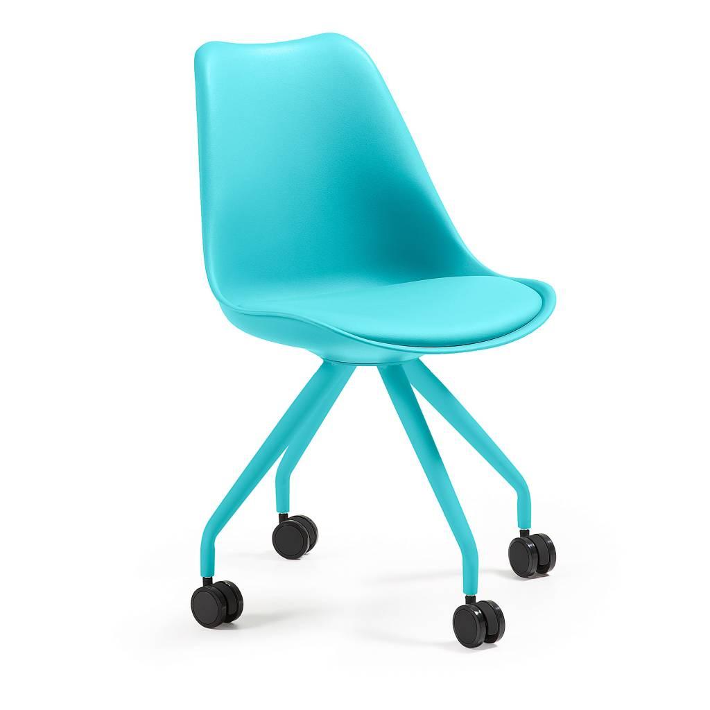 Bureaustoel Kind Blauw.Bureaustoel Lars Blauw Trendy Designs