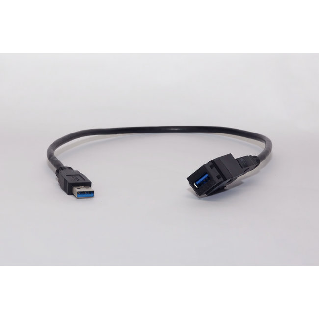 USB 3.0 connector/insert connector/insert met afneembare kabel