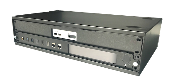 2U Desktop Rack with Mac mini and Intel NUC