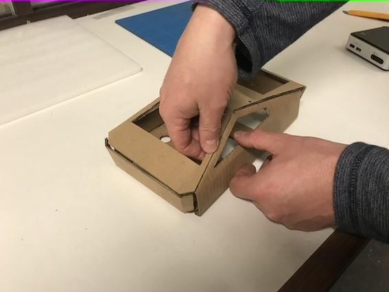 Cardboard CyberNUC