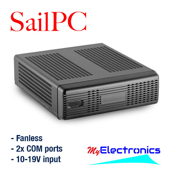 SailPC installation in NMEA network and testing OpenCPN and PC-Navigo