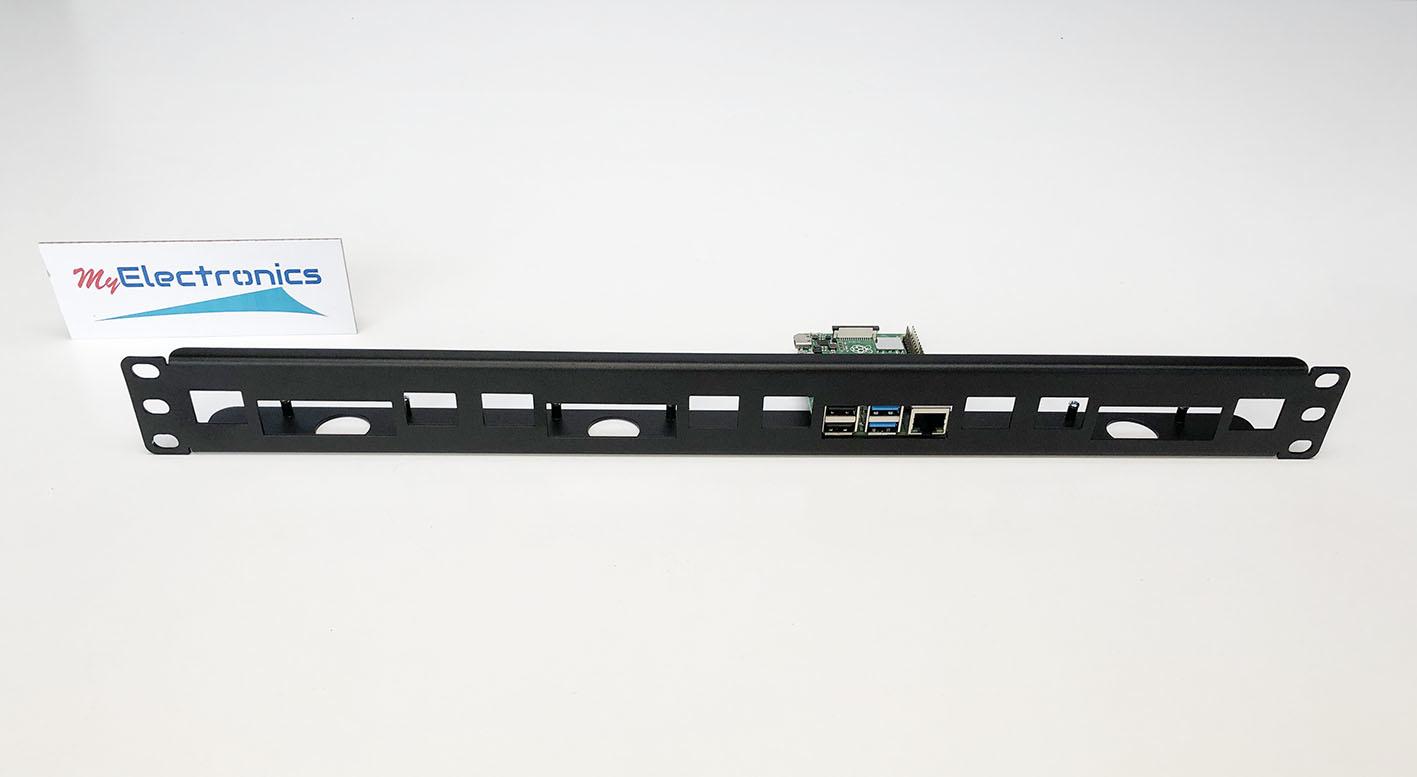 Raspberry Pi 19 inch rack mount for 1-4 pcs