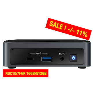 Intel NUC10i7FNK 16GB/512GB